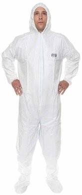 Enviroguard 50 Gram Liquid Resistant Microporous Coveralls - Hood & Boot