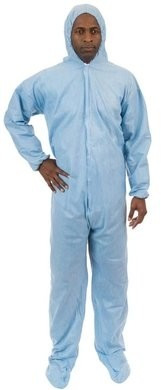 International Enviroguard PyroGuard FR Coveralls - Attached Hood & Boot
