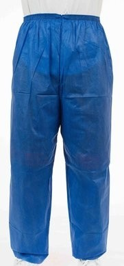Enviroguard Soft Scrubs FS2062B Denim Blue Soft Scrub Pants with Wide Elastic Waist