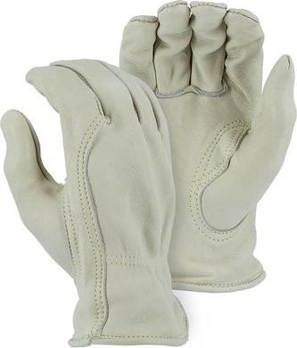 Majestic 1510BAK Extra Heavy A Grade Cowhide Drivers Gloves