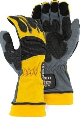 Majestic 2164 Extrication Gloves with Velcro Closure and Extended Cuff