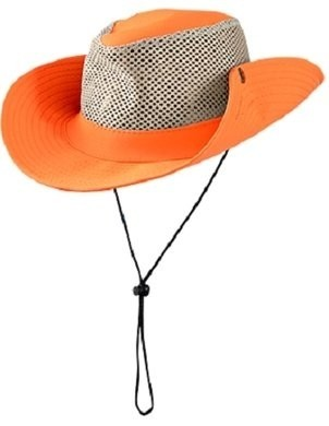 Occunomix SH100 Lightweight Mesh Snap-Up Boonie Hat
