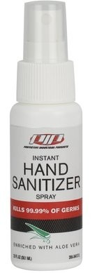 PIP Quick-Drying Hand Sanitizer Spray - Made in USA - Meets CDC Recommendations - 2 OZ Bottle