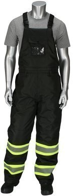 PIP Class E Rip Stop Insulated Two Tone Bib Overalls