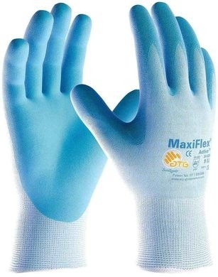 PIP MaxiFlex Active 34-824 Ultra Lightweight Nitrile Coated Micro-Foam Grip Gloves