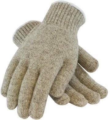 PIP 41-070 Seamless Knit 7 Gauge Rag Wool Gloves - Made to Order Item