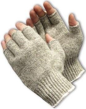 PIP 41-075 Seamless Knit Half-Finger Rag Wool Gloves