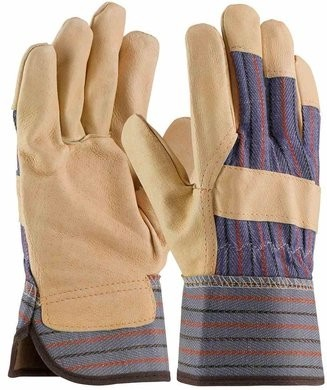 PIP 5555 Thermal Lined Pigskin Leather Palm Gloves With Rubberized Safety Cuff