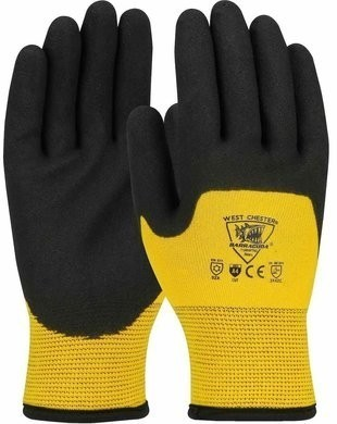 West Chester 713WHPTND Barracuda ANSI Cut 4 Cold Weather Gloves with PVC Foam Grip