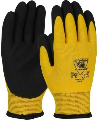 West Chester 713WHPTPD Barracuda ANSI Cut 4 Winter Lined Gloves with PVC Foam Grip