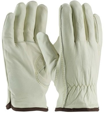 PIP 77-265 Cotton Lined Cowhide Leather Drivers Gloves With Keystone Thumb