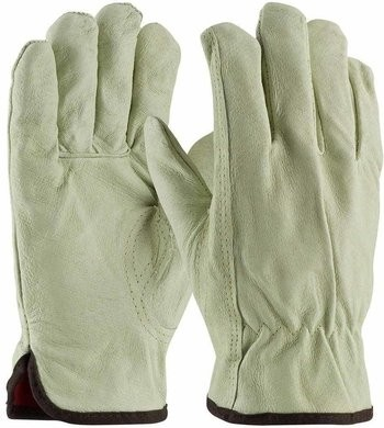 PIP 77-468 Premium Grade Top Grain Pigskin Leather Gloves with Red Thermal Lining