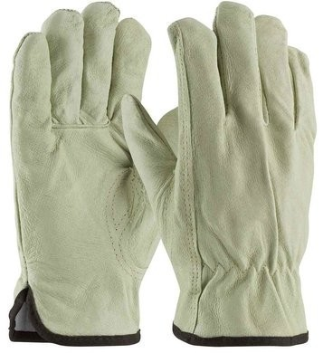PIP 77-469 Pigskin Leather 3M Thinsulate Lined Drivers Gloves With Keystone Thumb