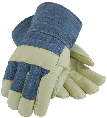 PIP 78-3927 Pigskin Leather 3M Thinsulate Lined Gloves With Rubberized Safety Cuff