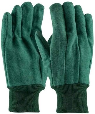 PIP 93-548 Premium Grade Cotton Chore Gloves with Double Layer Palm/Back - Size Large