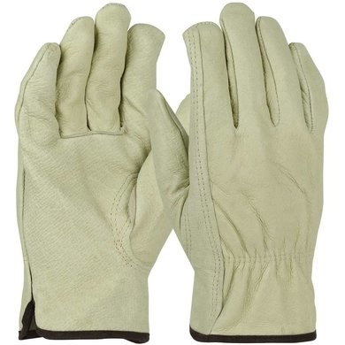 PIP 994KF Fleece Lined Pigskin Leather Drivers Gloves With Keystone Thumb
