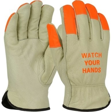 PIP Thermal Lined Pigskin Leather Drivers Gloves With Keystone Thumb