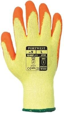 Portwest A150 Fortis Hi Vis Grip Gloves