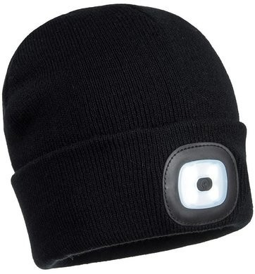 Portwest LED Head Light USB Rechargeable Beanies