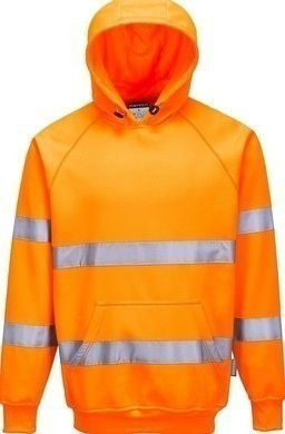 Portwest B304 Ansi Class 3 Hi-Vis Hooded Sweatshirt