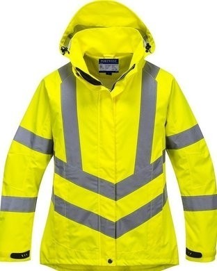 Portwest Ladies Hi Vis Waterproof Jacket