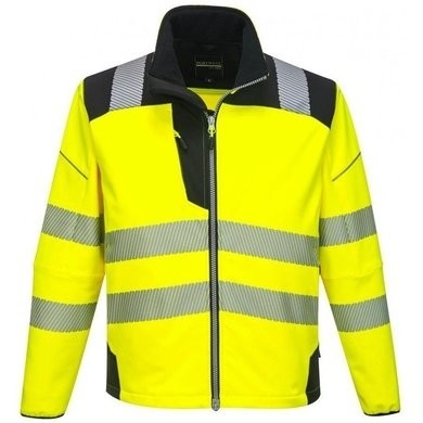 Portwest T402 PW3 Hi Vis Waterproof Softshell Jacket