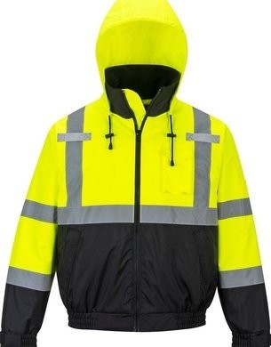 Portwest Premium Hi Vis  2-In-1 Waterproof Bomber Jacket