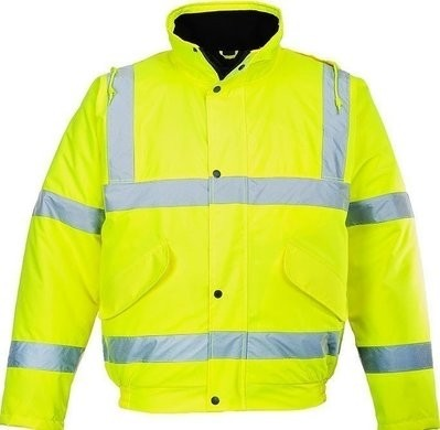 Portwest US463 Hi Vis Waterproof Bomber Jacket