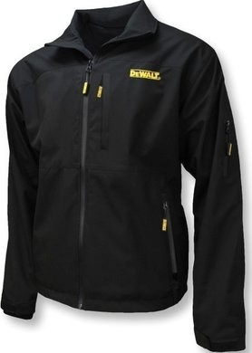 DeWalt Unisex Heated Structured Soft Shell Bare Black Jacket