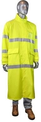 Radians Hi Vis Waterproof Long Rain Coat - ANSI 3