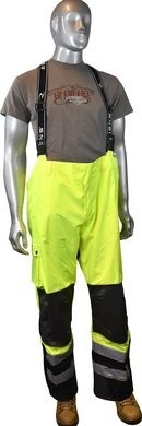 Radians RW32-EZ1Y HD Rip Stop Waterproof Pants With Bib