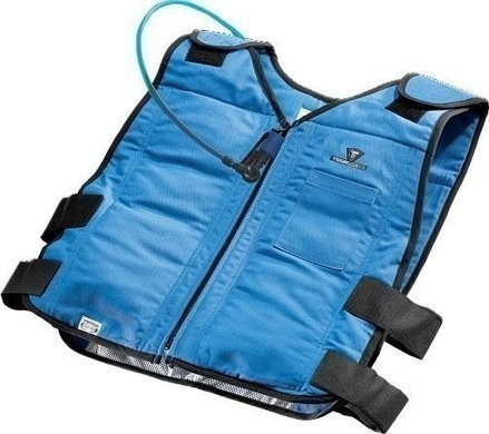 TechNiche 6627 Phase Change Cooling Vest with Built-In Hydration System