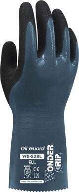 Wonder Grip WG-528L Oil Guard 15 Gauge Triple Nitrile Coated Gloves
