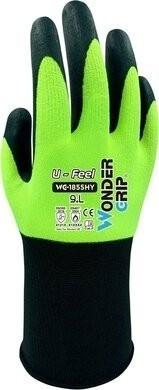 Wonder Grip WG-1855 U-Feel Hi Vis Touchscreen Gloves