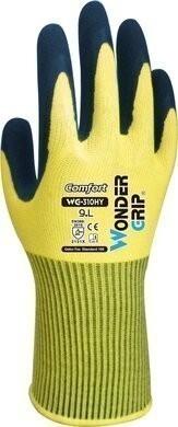 Wonder Grip WG-310 Comfort 13-Gauge Double Latex Coated Gloves