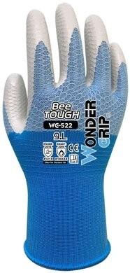 Wonder Grip WG-522W Bee Tough Nitrile Coated Gloves