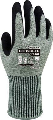 Wonder Grip  WG-787 DEXCUT 13 Gauge Cut Resistant Level A4 Gloves
