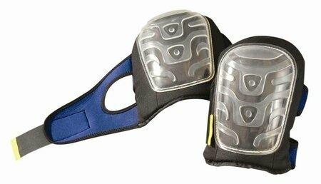 Occunomix Premium Clear Flat Cap Gel Knee Pads