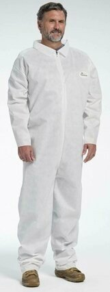 West Chester C3800 Posi M3 White SMMMS Coveralls