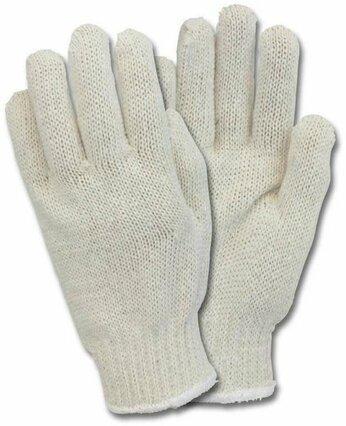 Safety Zone Medium Weight String Knit Gloves