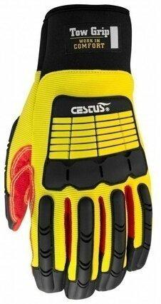 Cestus Tow Grip 3084 Long Cuff Impact Gloves