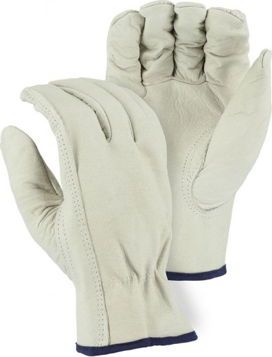 Majestic 2510 B-Grade Grain Cowhide Driver Gloves