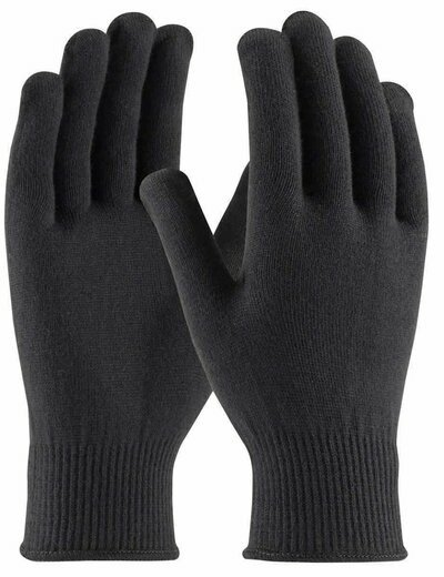 PIP 41-001 Seamless Knit 13 Gauge Black Thermax Gloves