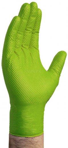 Gloveworks HD 10 Mil Green Nitrile Powder Free Gloves