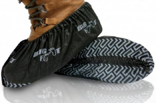 BlueMed Big Foot Non Slip Shoe Covers - Size XXL - Made in North America