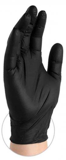 Gloveworks 5 Mil Black Nitrile Powder Free Gloves