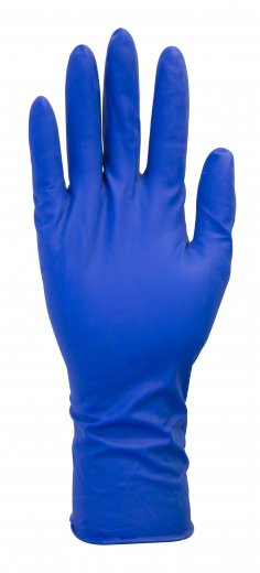 "Safety Zone HD 13 Mil Latex Exam Powder Free Gloves - 12"" Extended Length"