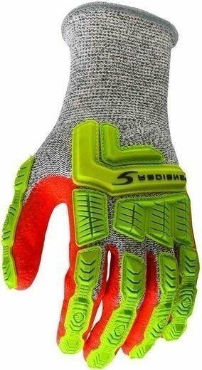 Radians RWG603 Cut Level 5 Sandy Foam Nitrile Coated Gloves