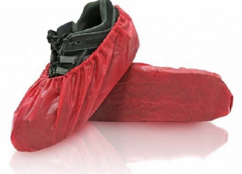 BlueMed Rave Water Resistant Shoe Covers - Universal Size - Made in North America