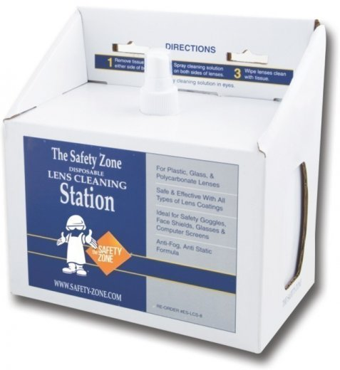 Safety Zone Lens Cleaning Station
